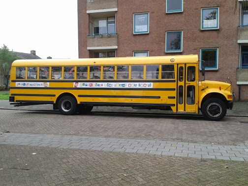 Amerikaanse schoolbus SuperKids