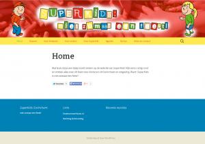 Nieuwe website SuperKids